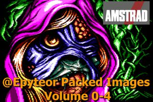 Amstrad CPC Demo - Epyteor Packed Images Volume 0-4 (2017)