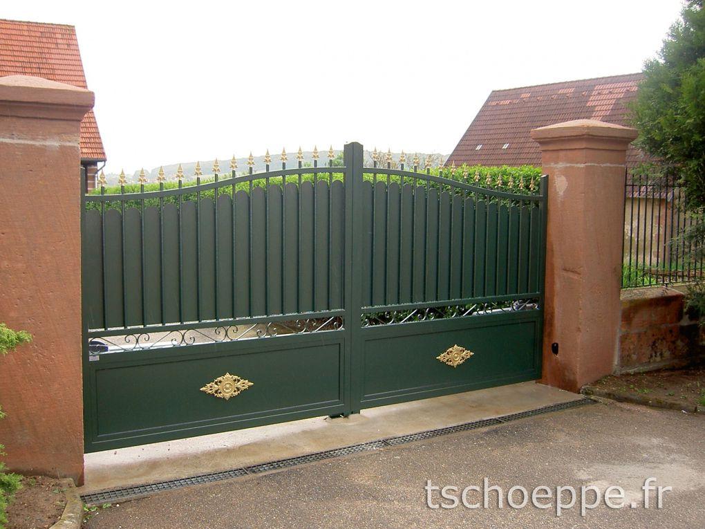 Arbor minéral propose un large choix de portails (Tschoeppe) Portail design, contemporain ou traditionnel en Morbihan et Vannes