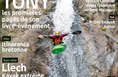 Canyack sur le Llech dans Canoë-kayak magazine.