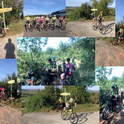 Dimanche 12 Septembre 2021 - C'est la rentrée pour la section Rando de Vélo 2000 Onet