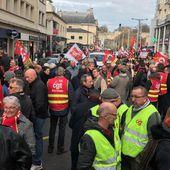 Manif à Caen. Près de 500 manifestants disent non à la loi travail