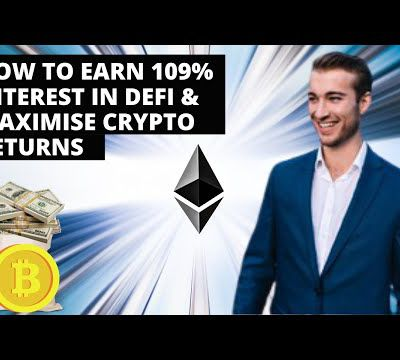 How To Earn 109% Interest In Crypto & Maximise DeFi Returns