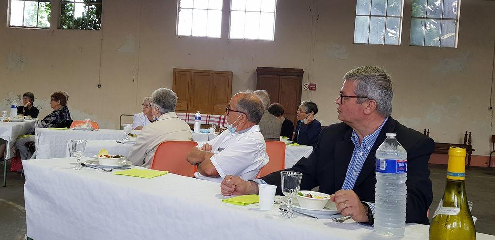 Visite pastorale de Mgr Beaumont dans la paroisse