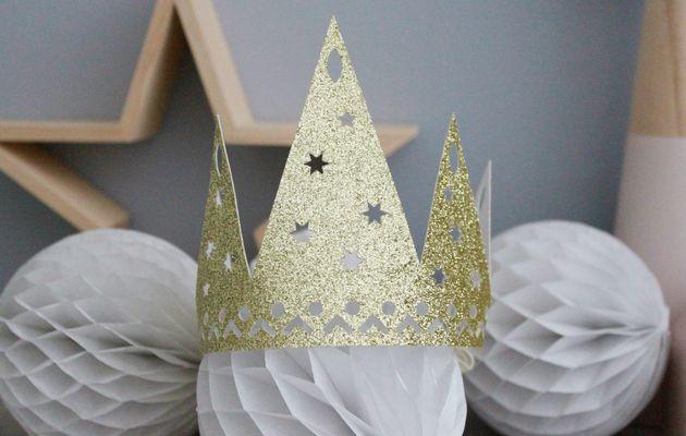 Carte et couronne pour bien commencer 2016