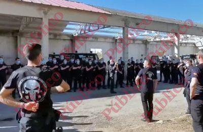 Los antidisturbios que actuaron en Vallecas reciben formación en Linares que exalta la moral y disciplina paramilitar