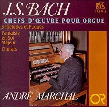 André Marchal, un grand organiste professeur d'orgue et un improvisateur français aveugle de naissance