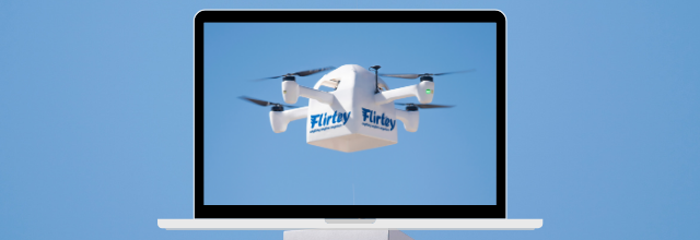 Drone Deliveries of At-Home COVID-19 Test Kits Conducted by Flirtey and Vault