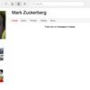 Le PDG de Facebook est sur Google +