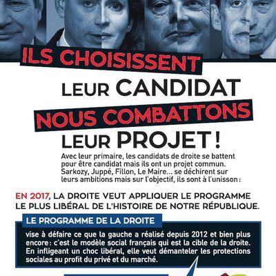 Ils choisisent leur candidat - Nous combattons leur projet !!!!!!