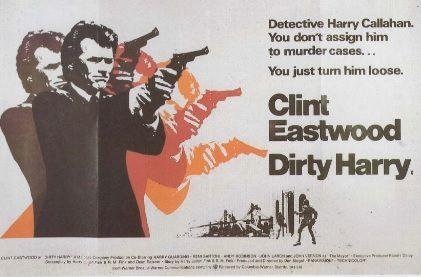 L'INSPECTEUR HARRY Clint Eastwood