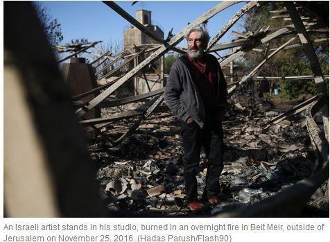 Israël brûle, l'invention du crime métaphysique  Shmuel Trigano