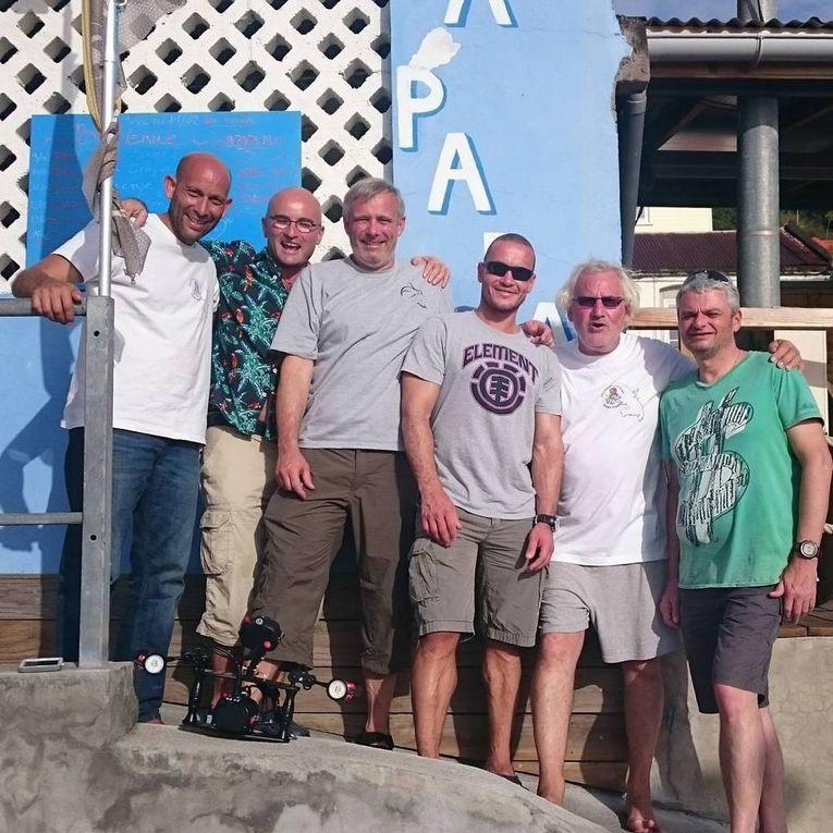 Trimix avancé sur l'épave du Tamaya, Niveau 4, Initiateur en Martinique en février avec Aquadomia chez Apapadlo