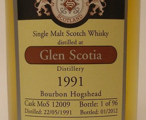 Glen Scotia 20Y Malts of Scotland.
