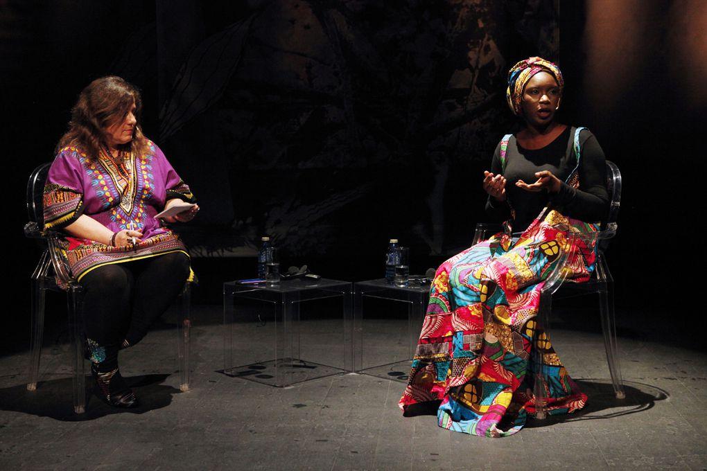 Imágenes de la activista gambiana Isatou Jeng