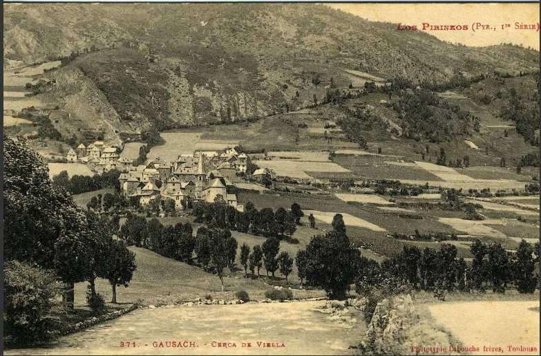Betren, Escunhau, Gausach (1914)