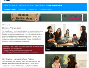 Download a Free German Audiocast from Deutsche Welle and the Goethe Institut
