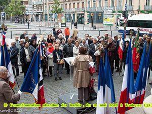 Commémoration abandon des harkis, du 12 mai 2018 à Toulouse (31)