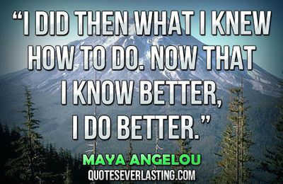 Maya Angelou - English - 20 Quotes