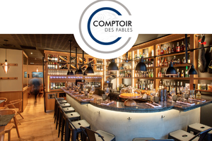 LE COMPTOIR DES FABLES, restaurant épatant et bar à cocktails étonnants à Paris !
