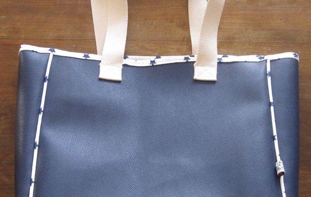 Mon sac en simili cuir