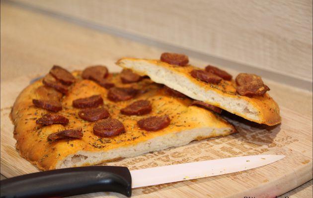 Les Fougasses au Chorizo façon Eric Kayser