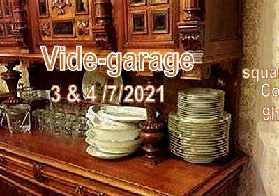 3 et 4 juillet : Un vide-garage au square Lahille (Colomiers), 9h-17h