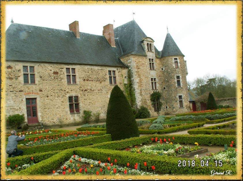 Découverte du site historique de la Chabotterie  le 15- 04-18.