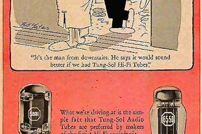 Vintage audio tubes