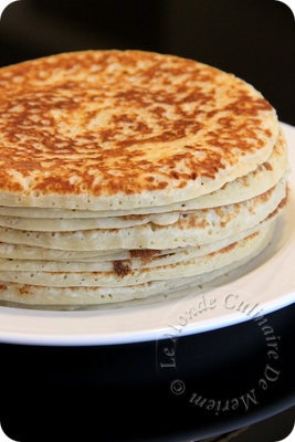 Pancakes au buttermilk (babeurre ou L'ben)