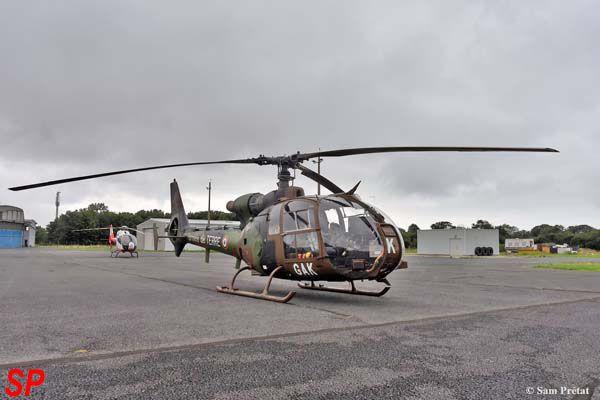 L'Aérospatiale SA-342M Gazelle N°3859 matricule GAK.