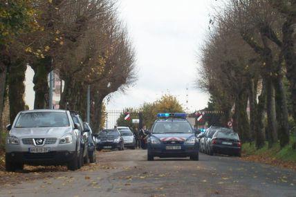 Quartiers Faubourg d'Arroux/Saint-Jean/Saint-André : la rue du 29eme Régiment d'Infanterie.