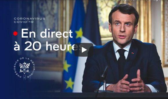 """Emmanuel Macron: """"le confinement le plus strict doit encore se poursuivre jusqu'au lundi 11 mai"""""""