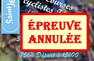 COVID-19 : ELLES PAYS DE LA LOIRE DU 29 MARS 2020 ANNULÉE