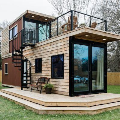 Misterbricolo vous offre un tour d'horizon de l'autoconstruction d'une maison container