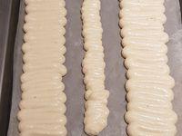 Bûche chocolat blanc avec insert framboise