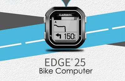 GARMIN Edge 25 IPX7 Waterproof GPS Bike Computer