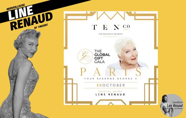 NEWS: Line Renaud est l'invité spécial du Gala « Global gift Gala Paris » le 30 octobre 2021