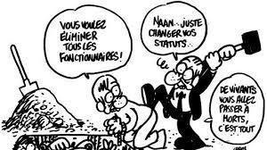 Fonctionnaires : CGS, salaires... nouveau hold up !!