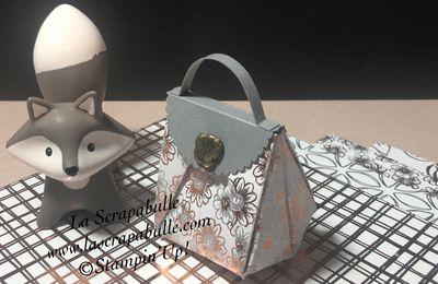 Mini sac très chic en origami