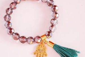 DIY : Bijoux avec pompons (3)