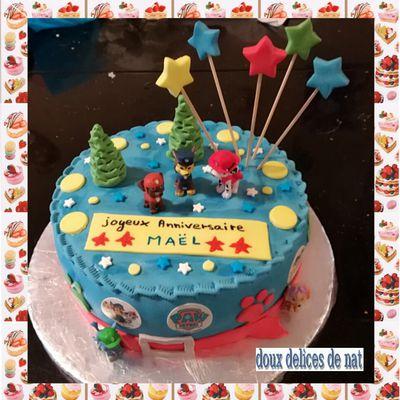 Gâteau Pat Patrouille :