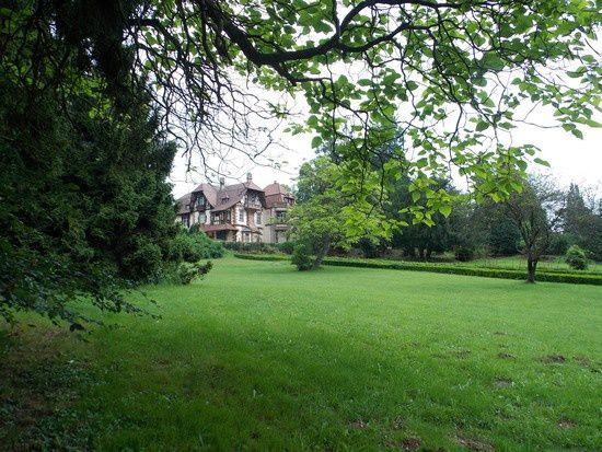 Parc de la Léonardsau à Boersch