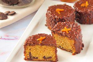 Petits Cakes Crousti-Moelleux Orange & Chocolat