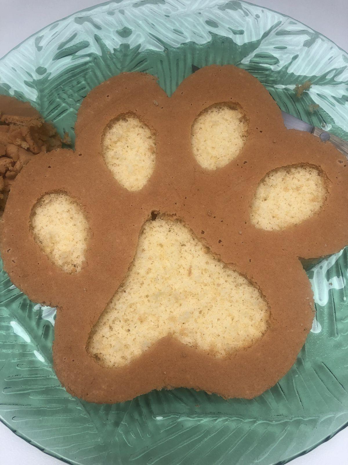 Empreintes de Simba en gâteaux