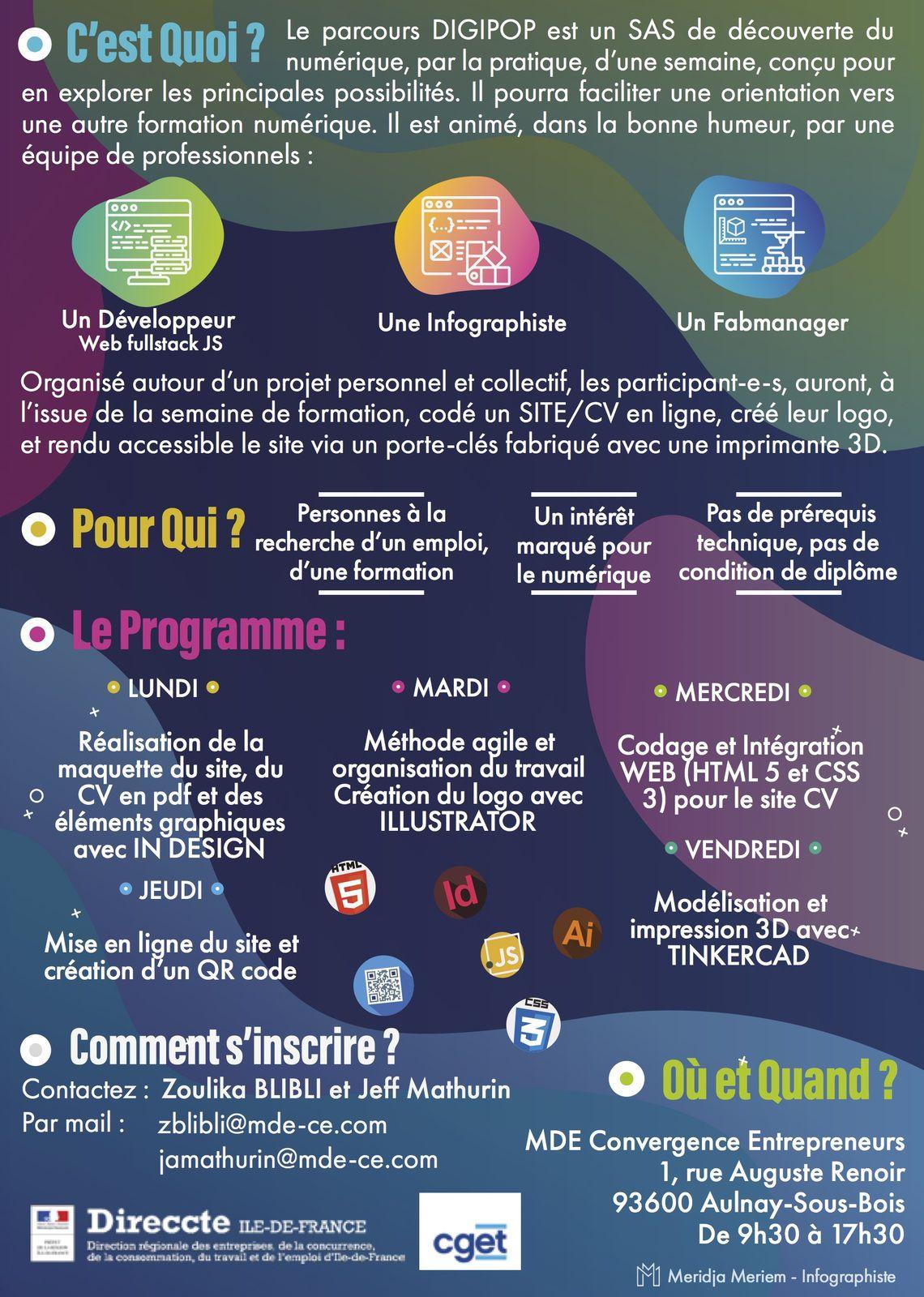 Une semaine pour découvrir le numérique à Aulnay-sous-Bois
