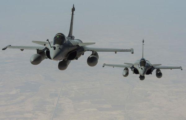 L'Armée de l'Air s'engage au-dessus de la Syrie contre l'Etat Islamique