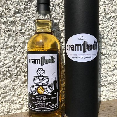Bowmore 21 'Dramfool 15th Release'