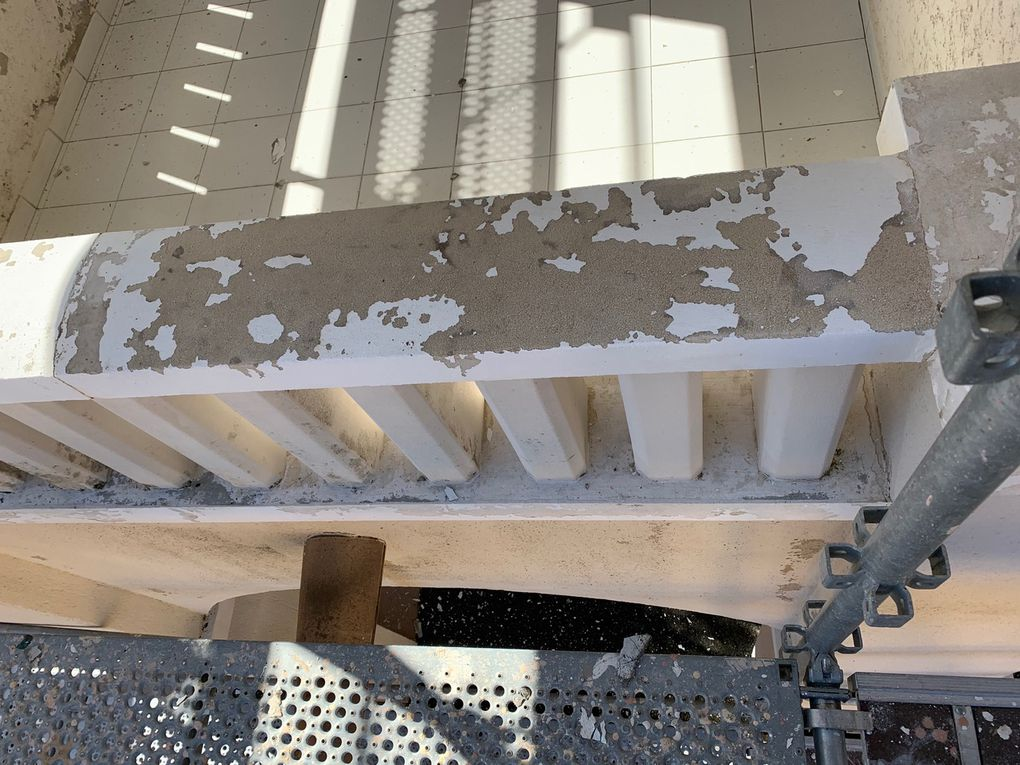 Le point sur les travaux des façades
