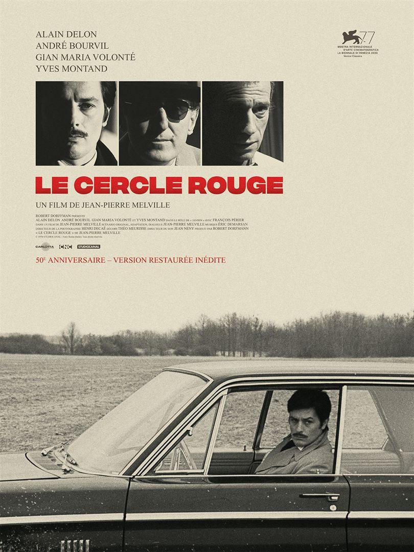 Le cercle rouge (1970) (BANDE-ANNONCE) avec Alain Delon, Bourvil, Gian Maria Volonté - Le 4 novembre 2020 au cinéma