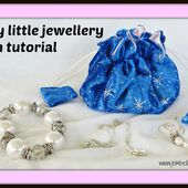 Creating my way to Success: Classy little jewellery pouch tutorial